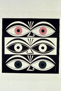Triple Eyes by Alexander Girard