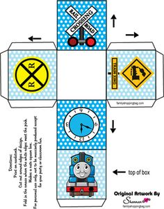 Thomas The Tank Engine Printable Coloring Pages And Invitations