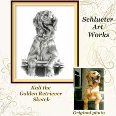 Schlueter Art Works ~ Hand drawn pet portraits done from your photos in graphite pencil. Reputable & reasonably priced.