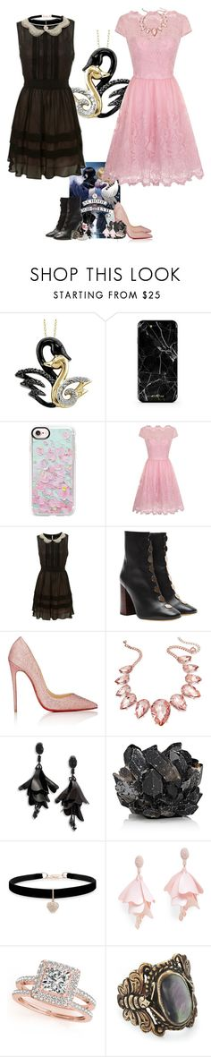 """A School of Good and Evil by Soman Chainani"" by little-miss-otp ❤ liked on Polyvore featuring Casetify, Chi Chi, Miss Selfridge, E L L E R Y, Christian Louboutin, Thalia Sodi, Oscar de la Renta, McCoy Design, Betsey Johnson and Oscar de la Renta Pink Label"
