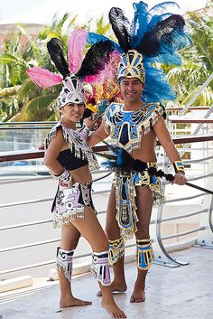 Aztec Costumes | MG_9954 Aztec Costumes Ready for INET | Flickr - Photo Sharing!