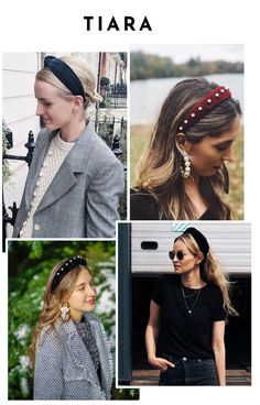 Alice Band, Hair Jazz, Reign Fashion, Moda Vintage, Diy Hair Accessories, Grunge Hair, Headband Hairstyles, Chic Outfits, Hair Trends