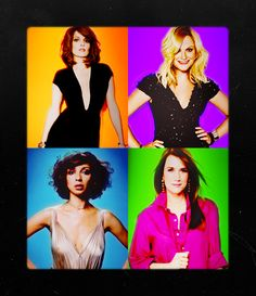 Tina Fey | Amy Poehler | Maya Rudolph | Kristen Wiig. Hanging out with these 4 ladies for a day. I would give anythinggggggg