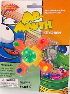 Mr.Mouth keychain by Basic fun