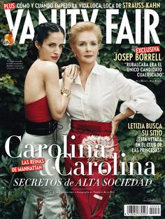 Nº 35.- Julio 2011. Carolina Herrera y Carolina Adriana Herrera. © Norman Jean Roy