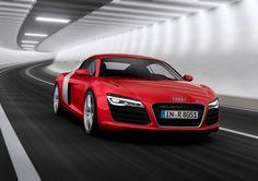 RED HOT Audi R8 - Won 'Red Dot' award. #coolcars #cars