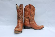 Vintage Wrangler Womens Cowboy Boots
