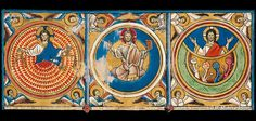LA CREACIÓN  CREATION  The Great Canterbury Psalter  Salterio Triple Glosado  Psautier Anglo-Anibal Catalan
