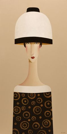 Mercedes, by Danny McBride Danny Mcbride, Painting People, Woman Painting, Jr Art, Fashion Painting, Fashion Art, Modigliani, Face Art, Kinder Art