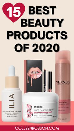 This year put all our beauty routines to the test. Here are our favorite makeup, hair and skin care products that got us through all the craziness of 2020. #bestbeautyproducts #2020 Best Beauty Tips, Beauty Hacks, Makeup Bag Essentials, Makeup Must Haves, Beauty Junkie, Hair Care Tips, Diy Skin Care, All Things Beauty, Shopping Hacks