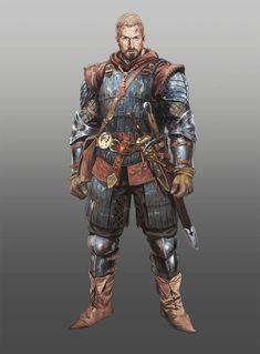 warrior, ChangSung Bae on ArtStation at https://www.artstation.com/artwork/warrior-48e41a36-5ae4-45e1-a332-966bd42a1cc4