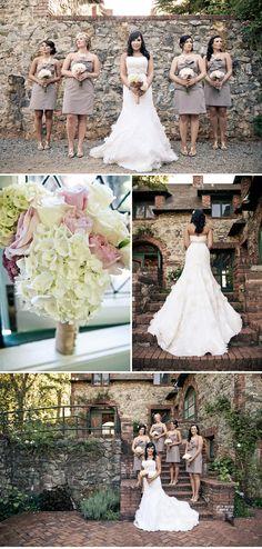 vintage blush california wedding