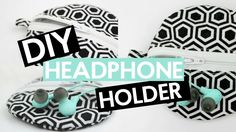 DIY EARPHONE HOLDER