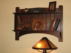 Craftsman Bookshelf from http://www.badgerwood.com/gallery.html
