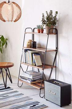 Max Wood Bookshelf - Urban Outfitters