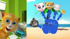 Do you Know the Muffin Talking Cats Funny Songs Funny Songs, Nursery Rhymes, Did You Know, Funny Cats, Pikachu, Muffin, Youtube, Funny Kitties, Muffins