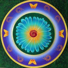Mandala de Lisa en Taller por Karen Scott