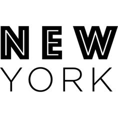 New York text ❤ liked on Polyvore featuring backgrounds, text, words, phrase, quotes and saying