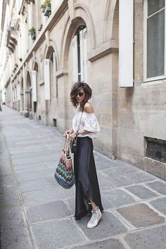 Love her hair! Urban Fashion, Boho Fashion, Fashion Outfits, Casual Street Style, Casual Chic, Cut And Style, Her Style, Estilo Rock, Mode Blog