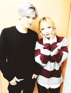 hyunseung and hyuna ;u;