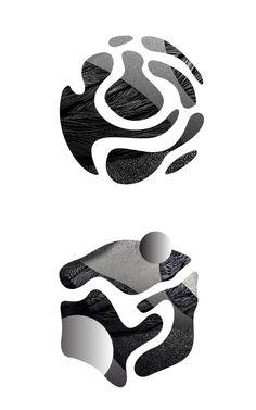 Xmas by Mats Ottdal, via Behance Web Design, Book Design, Design Art, Graphic Illustration, Illustration Sketches, Graphic Design Posters, Graphic Design Inspiration, Textures Patterns, Stencil Designs