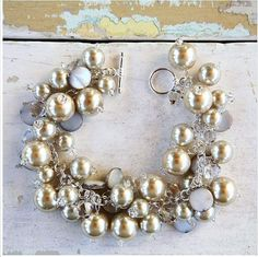 Pearl dangle bracelet...