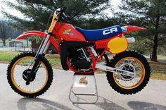 1982- Honda CR480R