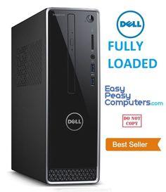 NEW DELL FAST Desktop Computer PC Windows 10 500GB 4GB WiFi DVDRW (FULLY LOADED) #Dell