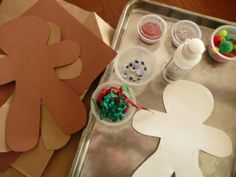 Make your own Gingerbread man (great book activity!)