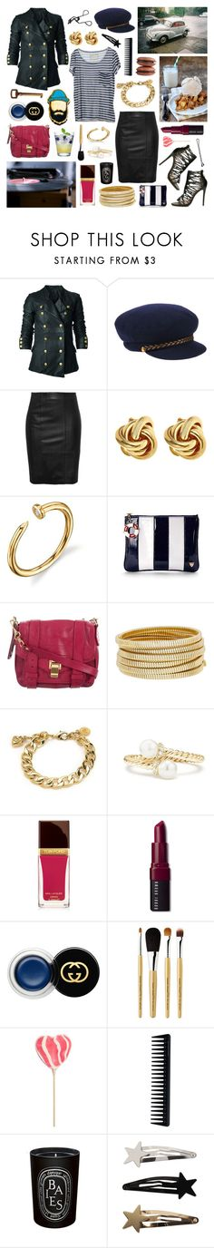 """""""i only lie when i make a sound"""" by surma ❤ liked on Polyvore featuring Bllack by Noir, Eugenia Kim, Stand, Fornash, Aspinal of London, Proenza Schouler, Bagutta, Juicy Couture, David Yurman and Tom Ford"""