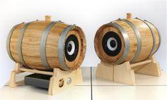Cheers Raw 3 su reggibotte PP30 amplificato Cheers, Barrel, Audio, Barrel Roll, Barrels