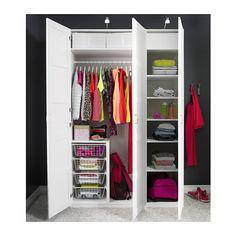 PAX Šatní skříň - 150x60x236 cm, standardní panty - IKEA