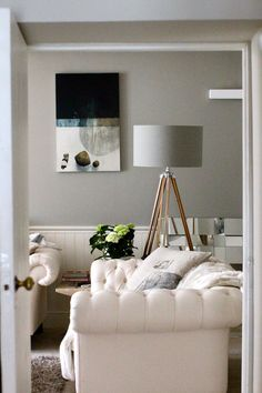 Farrow and Ball Manor House Gray: Click through for The Best Gray Paints For Interiors on Modern Country Style...