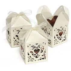 Decorative Wedding Favor Box – Candy Cake Weddings