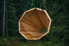 Die Stille des Waldes - laut zu hören 66475