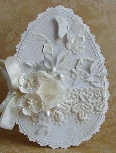 Duży wysyp jaj w stylu shabby chic :)   Wszystkie zrobione z  Białej róży .                                            Pozdrawiam :)