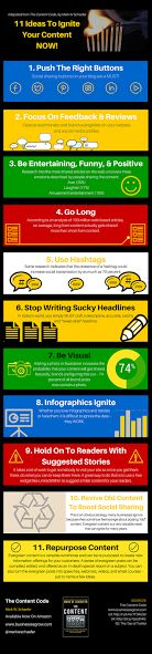 11 Ideas to Ignite Your Content [Infographic]