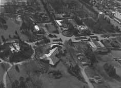 Aerial of Woodland Park Zoo, 1969 Fountain City, Woodland Park Zoo, Sherwood Park, Emerald City, My Town, Aerial View, Washington State, North America, Seattle