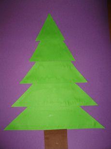 Kerstmis platte vlak knutselen » Juf Sanne