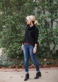 Sugarplum Style Tip   How to Wear Ankle Boots with Skinny Jeans