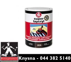 Super Laycryl, available from is a highly flexible liquid applied emulsion reinforced with membrane to provide a seamless professional waterproofing system. Visit us or contact us on 044 382