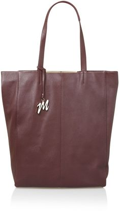 Mary Portas The House Tote Bag in Purple (Burgundy) | Lyst