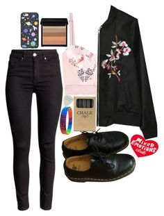 """""""Sin título #113"""" by starscounter394 on Polyvore featuring moda, STELLA McCARTNEY, Jayson Home, Dr. Martens, Casetify y Tuesday Bassen"""