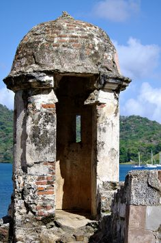 The Watch Tower of the Spanish Fort in Portobelo, Panama  by Sunscape