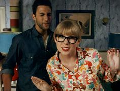 I want Taylor Swift's glasses & pajamas.