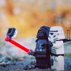 "@9gag's photo: ""Vader's Selfie Stick #9gag"""