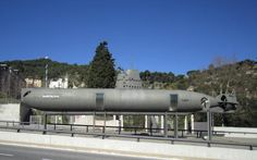 Odd submarine deep in the land - ap. 600ft above sea level in Barcelona, spain. What is going on? Any info on it?