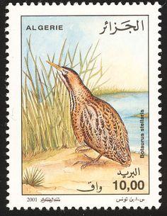 мар51Birds on stamps: Algeria Algerije Algérie