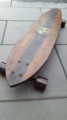 Home made hardwood longboard