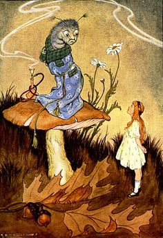 Сказочные Иллюстрации: Milo Winter - Алиса в Стране Чудес*
